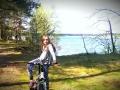 objeżdżając Helene-See