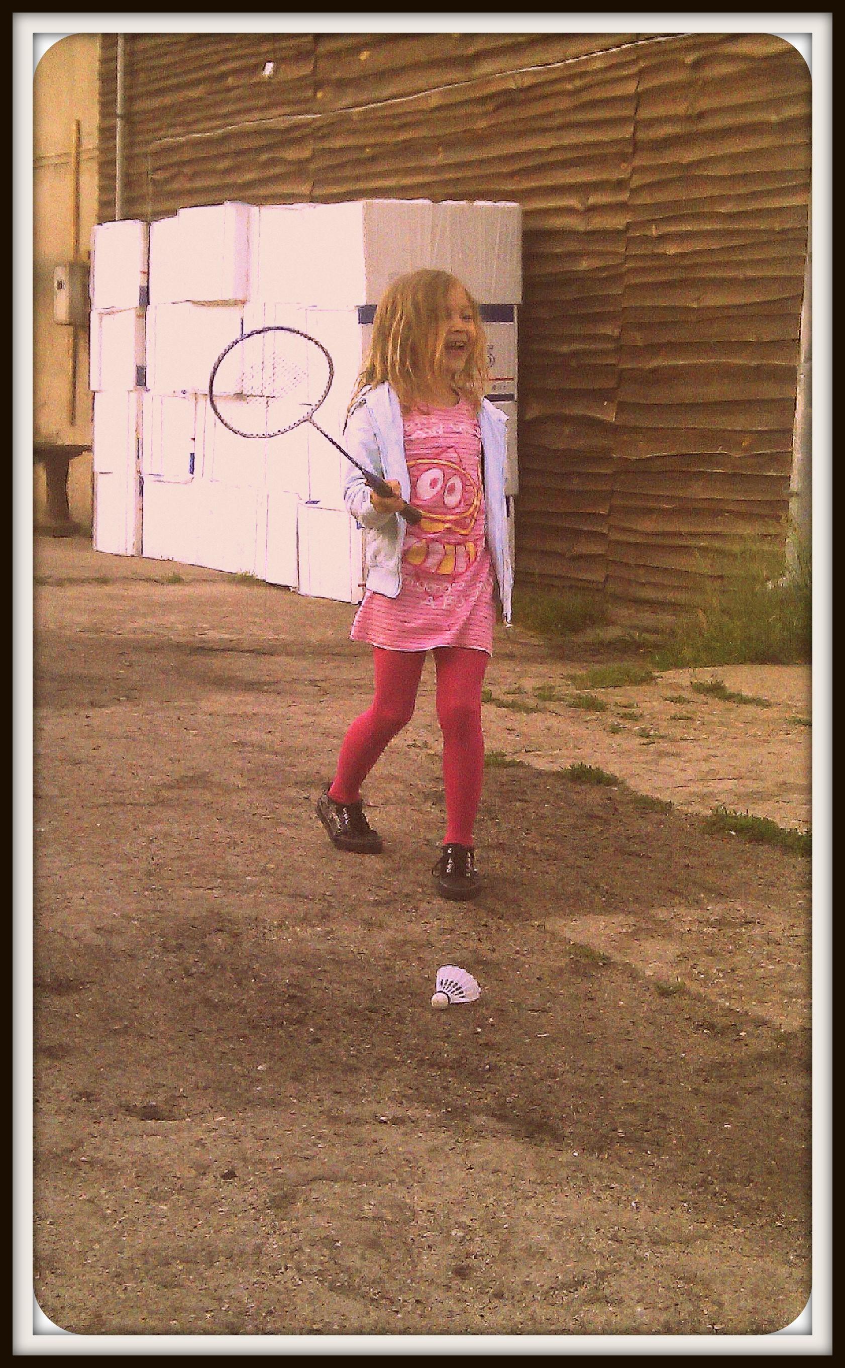 pierwszy kontakt z badmintonem