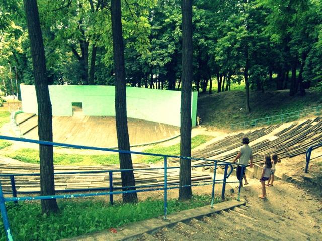 amfiteatr w Krośnie