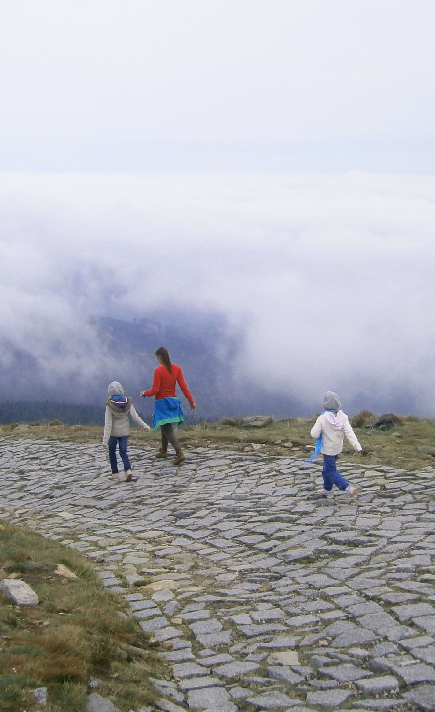 magiczne Karkonosze mgłą zasnute