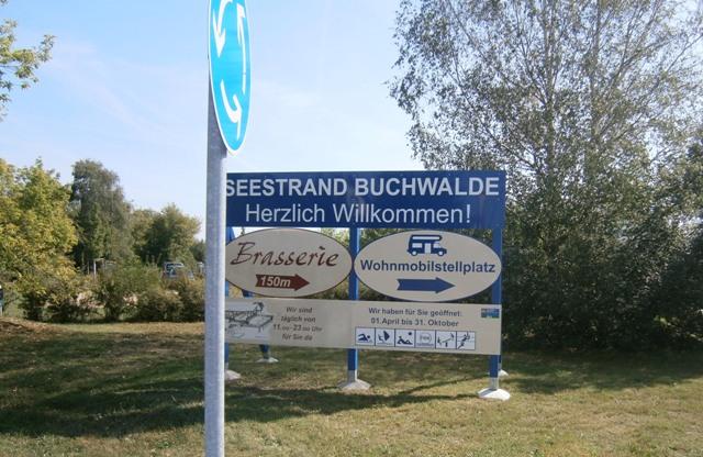 Wohnmobilstellplatz, Buchwalde