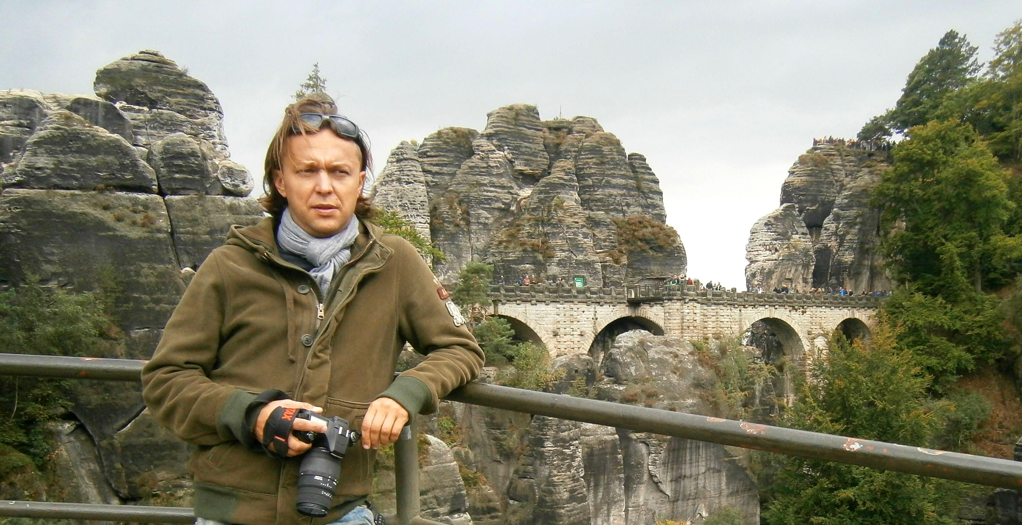 skałki, średniowieczna twierdza i most Bastei