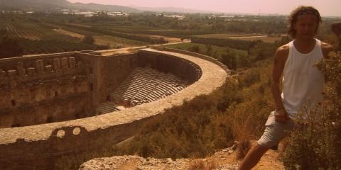 Amfiteatr, Aspendos