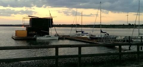 Partwitzer See, Lausitzer Seenland, Brandenburgia, Niemcy