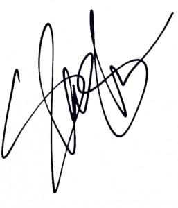 Autentyczny autograf od Slasha dla Marcina