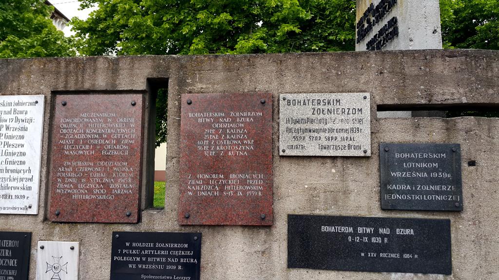 Łęczyca pomnik