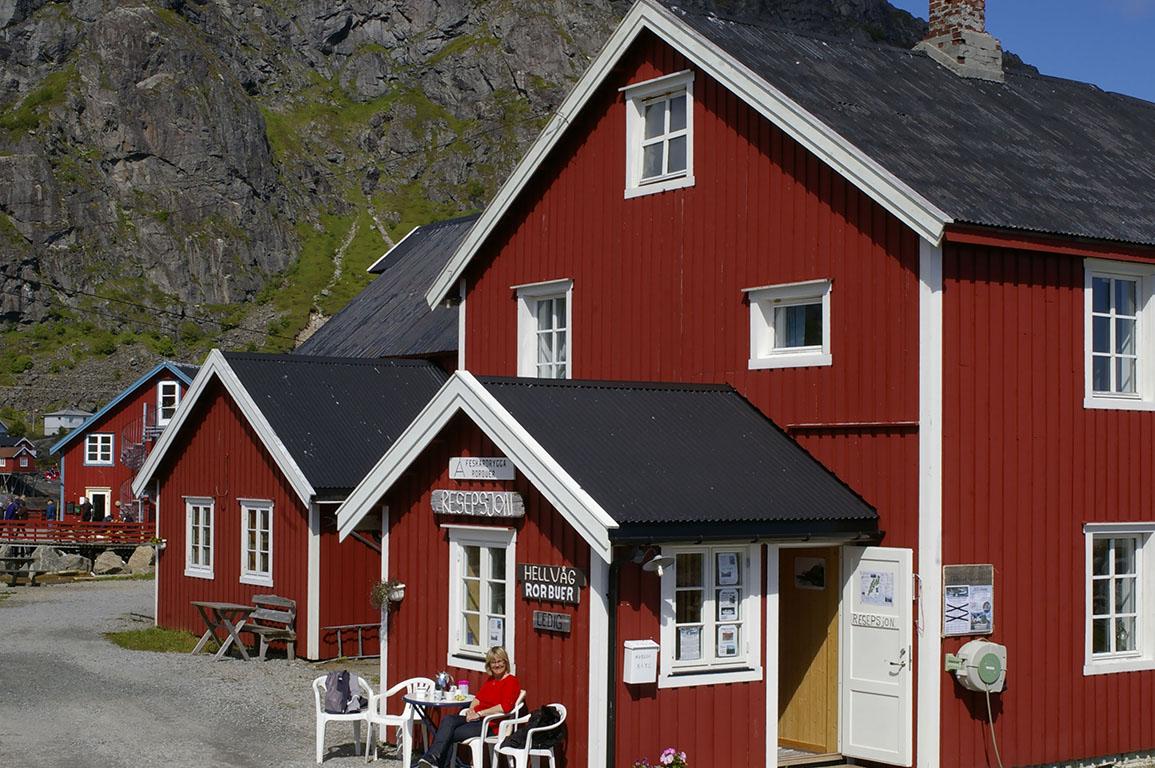 Uśmiechnięta Norweżka