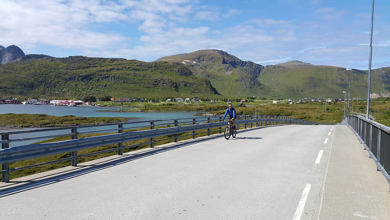 na rowerach, Lofoty