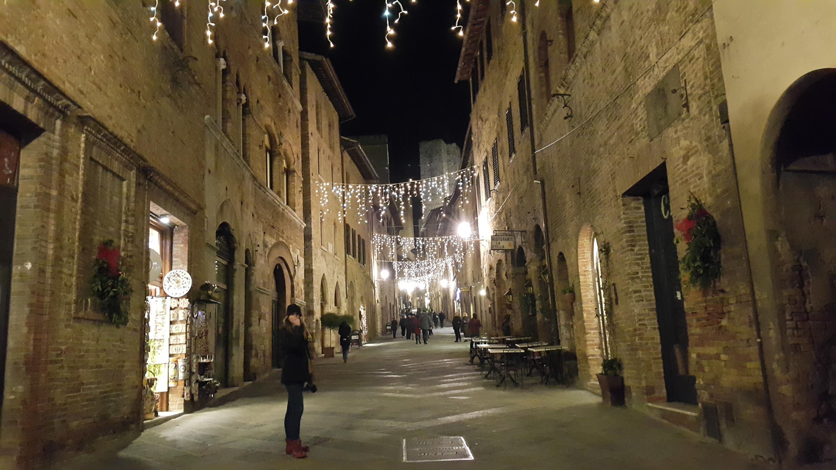 Kemping przy San Gimignano