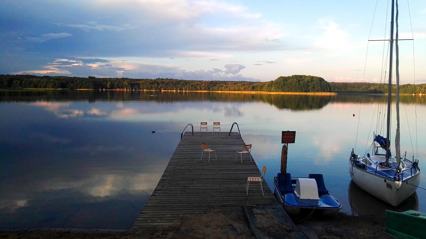 Jezioro Niesłysz, Lubuskie – słów kilka o kempingach
