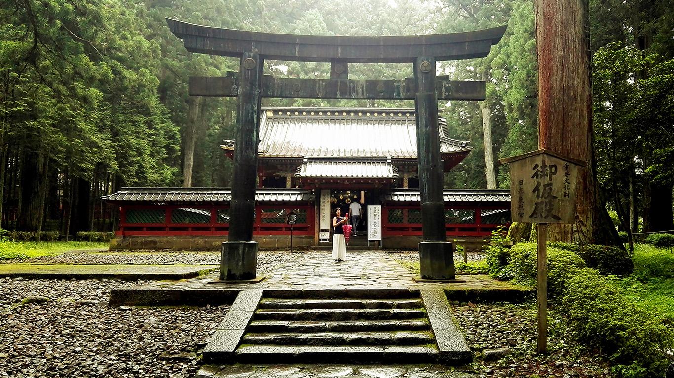 Kąpiel w japońskim onsenie, czyli jak spędziłam 30. urodziny. Kinugawa i Nikko.