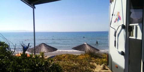 Camping Melissa Beach, Kastro Killinis, Peloponez